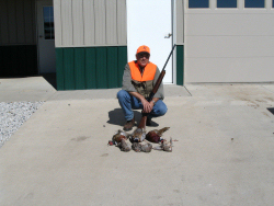 Jack Hart writes: Good dogs, generous hosts, beautiful terraine, fat pheasants and fast chukars, all in a perfectly natural Nebraska farm setting -- what more could a bird hunter ask for?